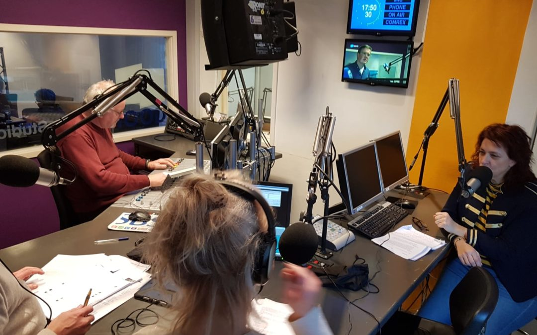 Gast bij Radio NHGooi in Business